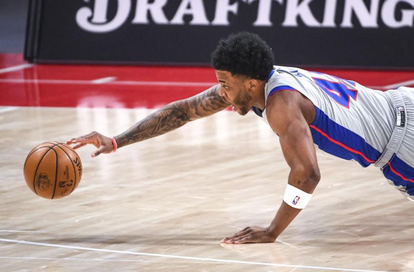 Saddiq Bey #41 of the Detroit Pistons (Photo by Nic Antaya/Getty Images)