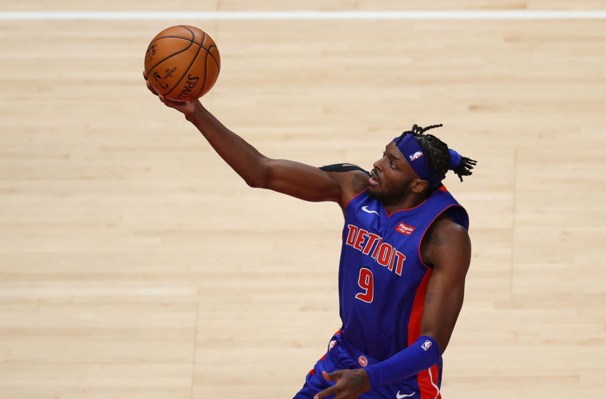 Jerami Grant #9 of the Detroit Pistons (Photo by Kevin C. Cox/Getty Images)