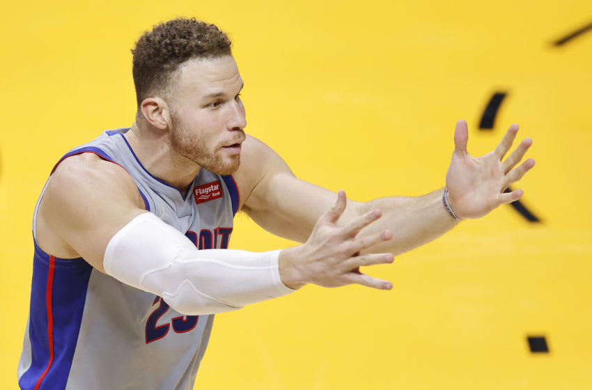 Blake Griffin #23 of the Detroit Pistons (Photo by Michael Reaves/Getty Images)