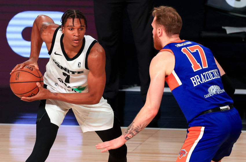 Isiah Todd #7 of the G League Ignite. (Photo by Mike Ehrmann/Getty Images) NOTE TO USER: User expressly acknowledges and agrees that, by downloading and or using this photograph, User is consenting to the terms and conditions of the Getty Images License Agreement.