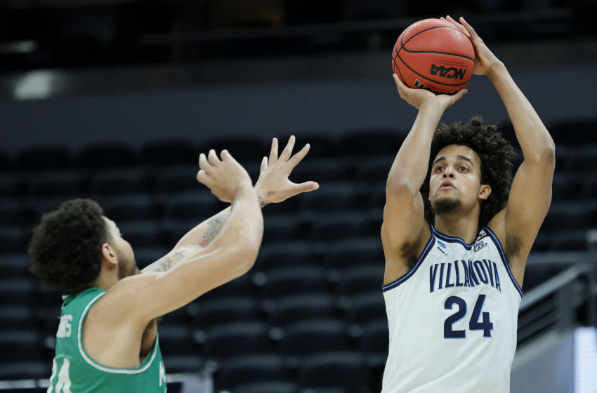 Jeremiah Robinson-Earl #24 of the Villanova Wildcats (Photo by Sarah Stier/Getty Images)