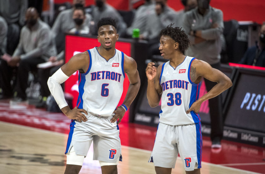 Hamidou Diallo #6 of the Detroit Pistons (Photo by Nic Antaya/Getty Images)