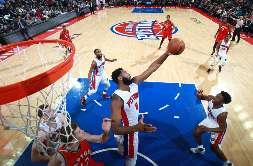 AUBURN HILLS, MI - APRIL 5: Andre Drummond