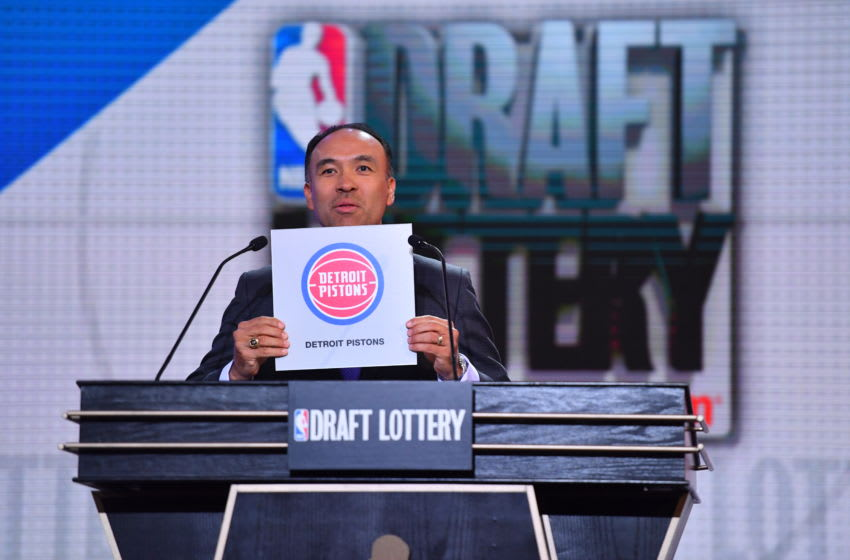 Detroit Pistons draft odds for the 2020 NBA Draft are stagnant, for now. (Photo by Jesse D. Garrabrant/NBAE via Getty Images)