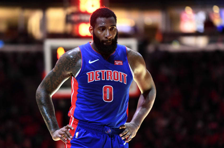 Detroit Pistons Andre Drummond. (Photo by Stacy Revere/Getty Images)