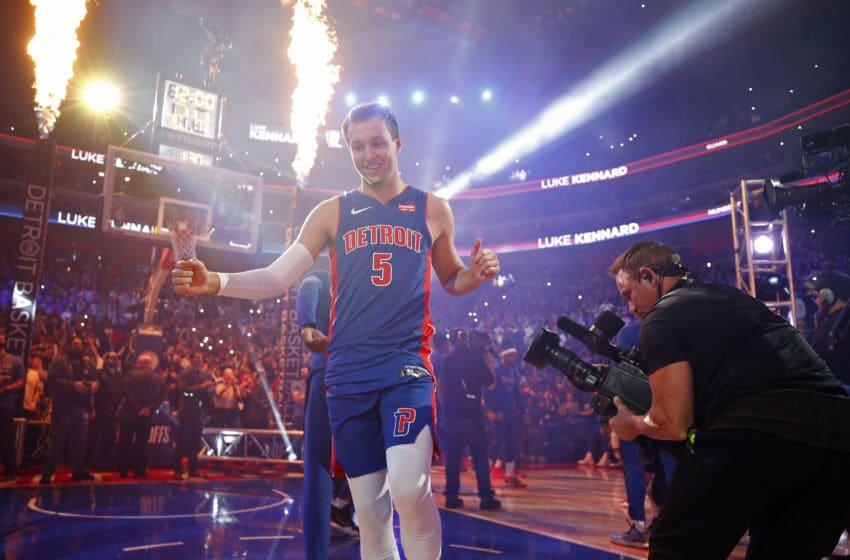 Detroit Pistons Luke Kennard. (Photo by Brian Sevald/NBAE via Getty Images)