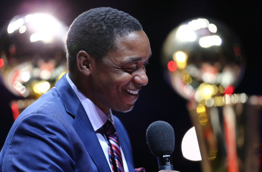 Detroit Pistons, Isiah Thomas (Photo by Rey Del Rio/Getty Images)