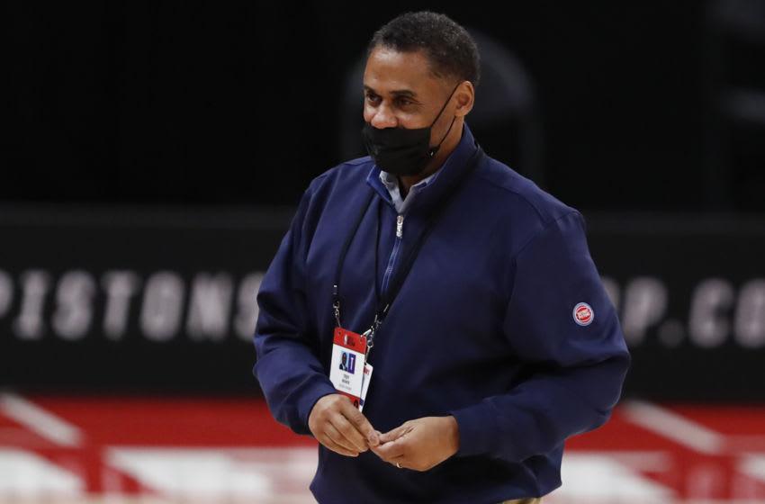 Detroit Pistons general manager Troy Weaver: Raj Mehta-USA TODAY Sports