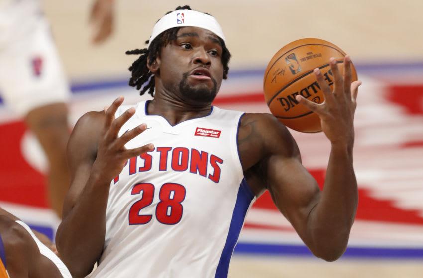 Detroit Pistons center Isaiah Stewart ( Mandatory Credit: Raj Mehta-USA TODAY Sports