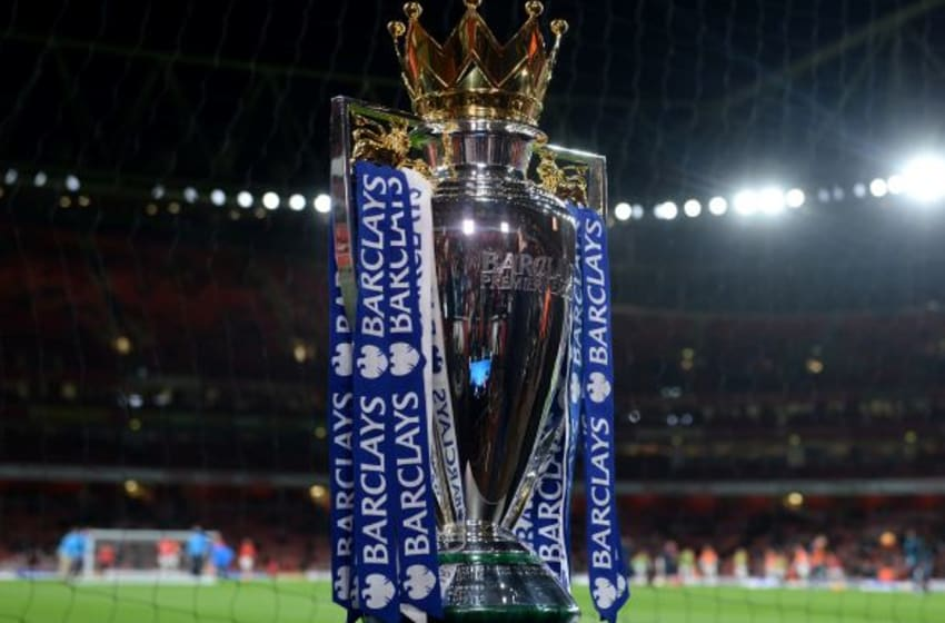 Who will lift this trophy in May and join these 30 teams among the greatest ever to compete in the English Premier League? (Photo by Michael Regan/Getty Images)