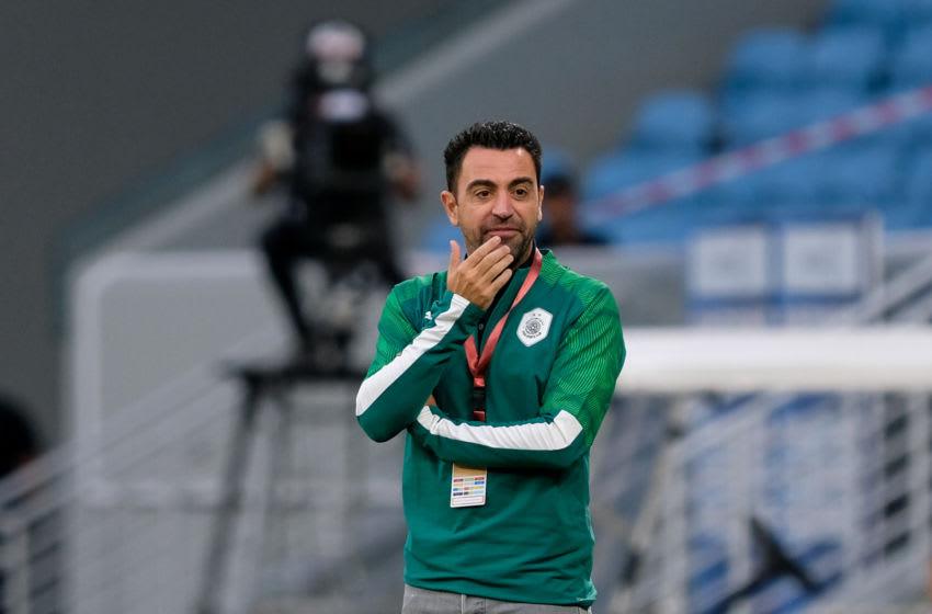 Xavi, Al Sadd (Photo by Simon Holmes/NurPhoto via Getty Images)