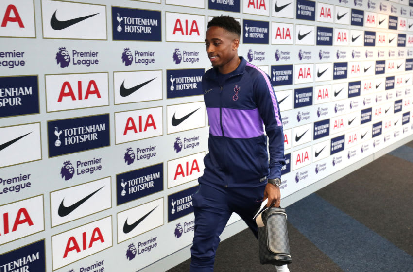LONDON, ENGLAND - AUGUST 25: Kyle Walker-Peters of Tottenham Hotspur arrives at the stadium prior to the Premier League match between Tottenham Hotspur and Newcastle United at Tottenham Hotspur Stadium on August 25, 2019 in London, United Kingdom. (Photo by Tottenham Hotspur FC/Tottenham Hotspur FC via Getty Images)