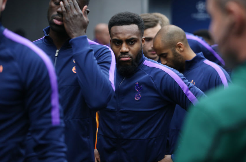 LONDON, ENGLAND - NOVEMBER 26: Danny Rose of Tottenham Hotspur in the tunnel prior to the UEFA Champions League group B match between Tottenham Hotspur and Olympiacos FC at Tottenham Hotspur Stadium on November 26, 2019 in London, United Kingdom. (Photo by Tottenham Hotspur FC/Tottenham Hotspur FC via Getty Images)