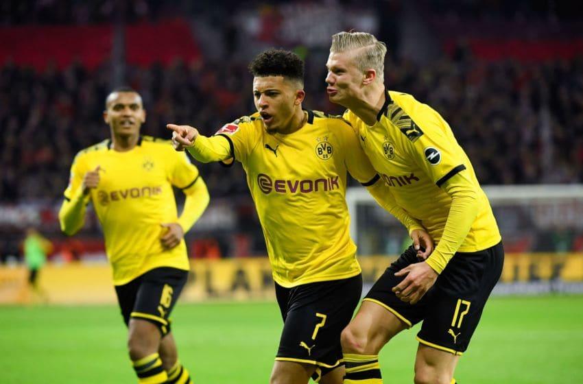 Jadon Sancho, Borussia Dortmund (Photo by INA FASSBENDER/AFP via Getty Images)