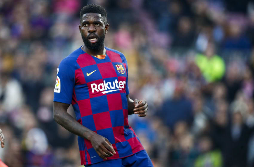 Samuel Umtiti, FC Barcelona (Photo by David S. Bustamante/Soccrates/Getty Images)