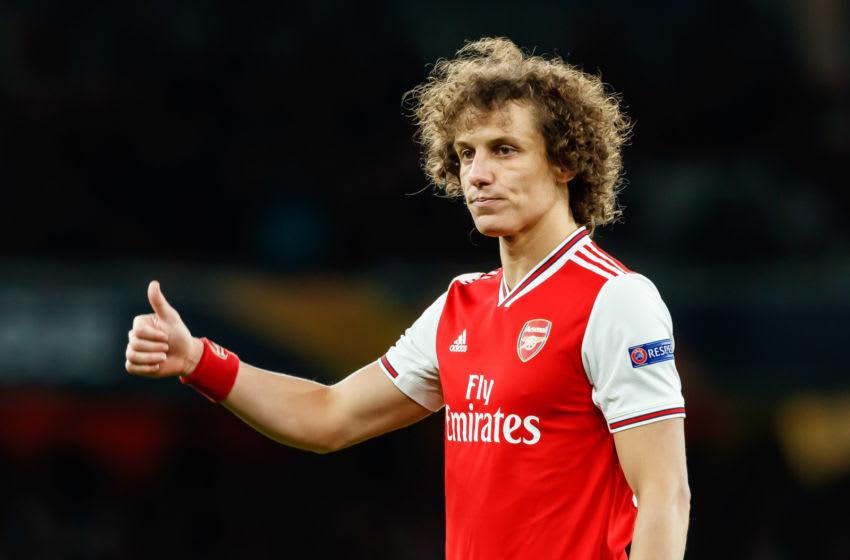 David Luiz. Arsenal (Photo by Roland Krivec/DeFodi Images via Getty Images)