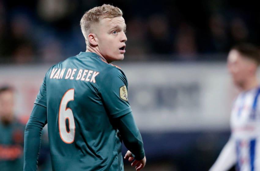 Manchester United target Donny van de Beek, Ajax (Photo by Angelo Blankespoor/Soccrates/Getty Images)