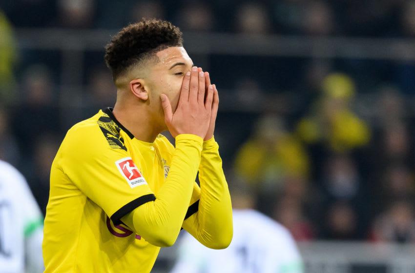 Jadon Sancho, Borussia Dortmund (Photo by Alex Gottschalk/DeFodi Images via Getty Images)