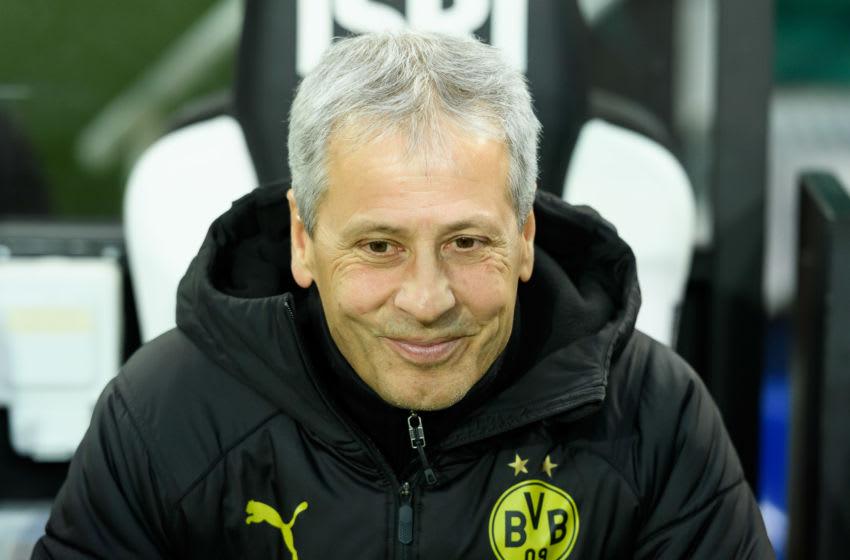 Lucien Favre, Borussia Dortmund (Photo by Alex Gottschalk/DeFodi Images via Getty Images)