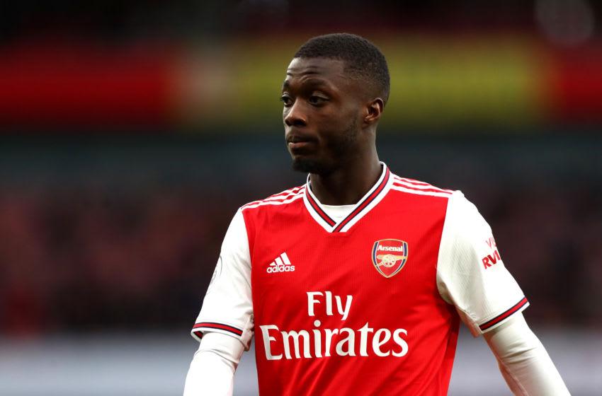 Nicolas Pepe, Arsenal (Photo by Chloe Knott - Danehouse/Getty Images)