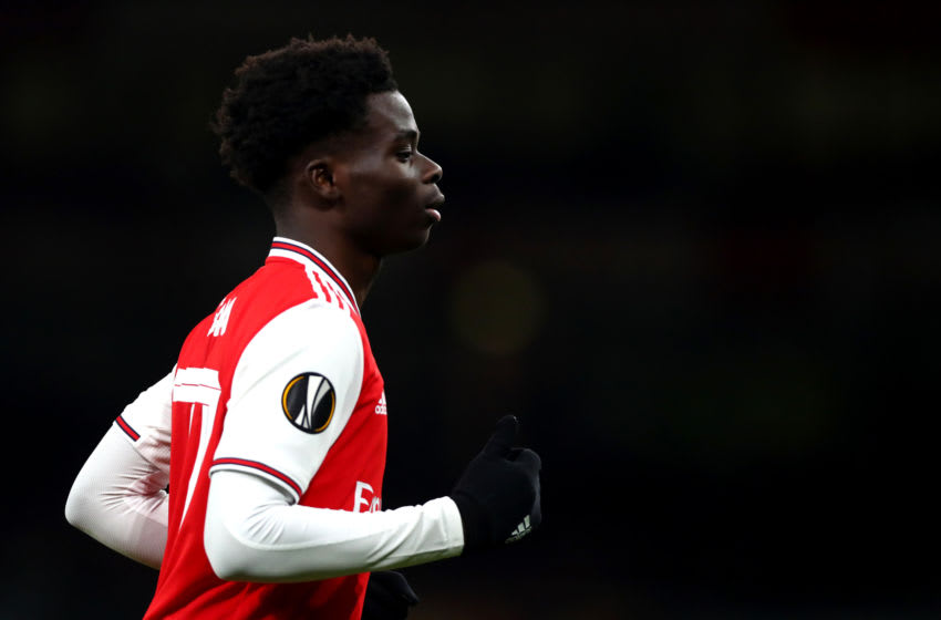 Bukayo Saka, Arsenal (Photo by Chloe Knott - Danehouse/Getty Images)