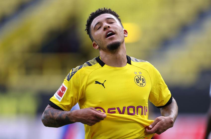 Jadon Sancho, Borussia Dortmund (Photo by Lars Baron/Getty Images)