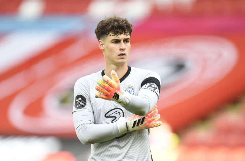 Kepa Arrizabalaga, Chelsea (Photo by Peter Powell/Pool via Getty Images)