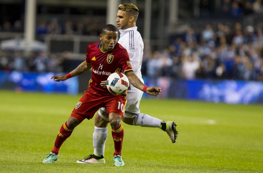 KANSAS CITY, KS - APRIL 2: Joao Plata