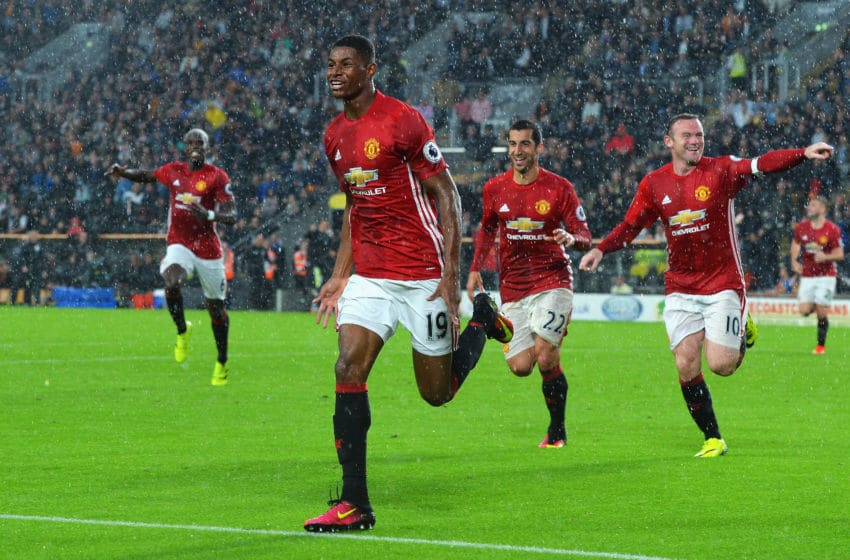 Marcus Rashford is an exceptionally talented young player for Manchester United