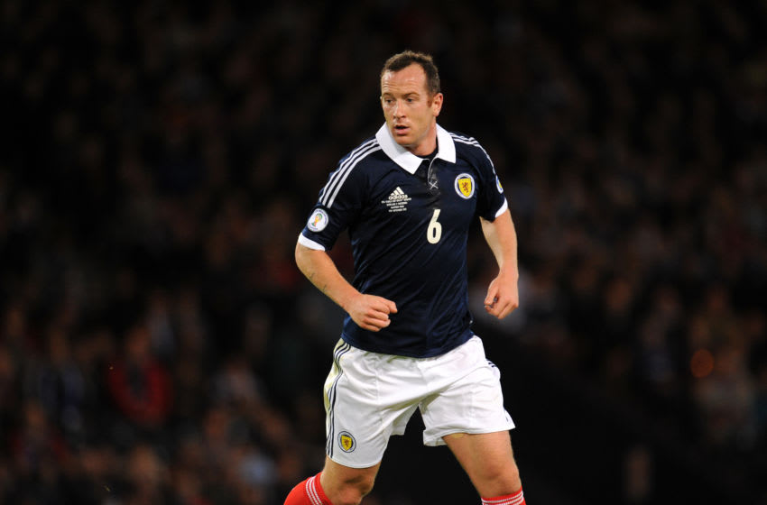 Charlie Adam of Scotland (Photo by AMA/Corbis via Getty Images)