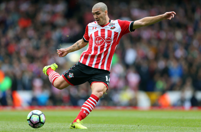 LONDON, ENGLAND - MARCH 19: Oriol Romeu of Southampton during the Premier League match between Tottenham Hotspur and Southampton at White Hart Lane on March 19, 2017 in London, England. (Photo by Catherine Ivill - AMA/Getty Images)