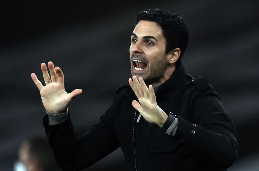Mikel Arteta, Arsenal (Photo by ADRIAN DENNIS/AFP via Getty Images)