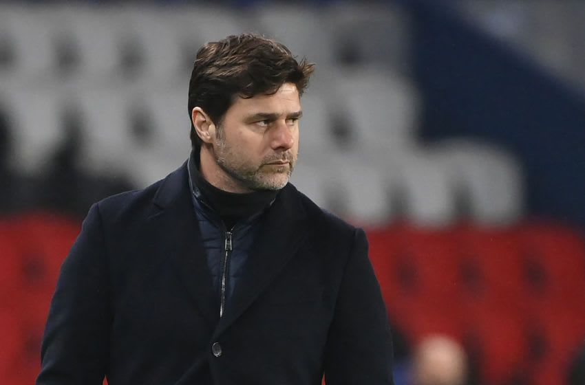 Paris Saint-Germain's Argentinian head coach Mauricio Pochettino.. (Photo by FRANCK FIFE / AFP) (Photo by FRANCK FIFE/AFP via Getty Images)