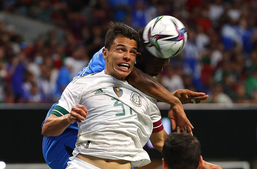 Osvaldo Rodriguez made his El Tri debut against Honduras on June 12. He could find himself in the starting line-up against the Catrachos in the Gold Cup quarterfinals. (Photo by Kevin C. Cox/Getty Images)
