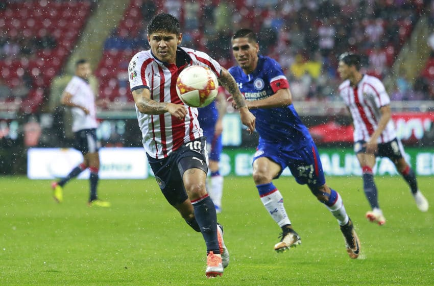 Javier López and the Chivas are in desperate need of a win or risk seeing their playoff dreams smashed. They host Cruz Azul on Saturday. (Photo by Juan Mejia/Jam Media/Getty Images)