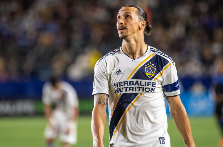 Zlatan Ibrahimovic, Los Angeles Galaxy (Photo by Shaun Clark/Getty Images)