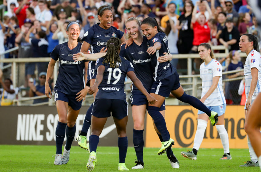 NWSL, North Carolina Courage (Photo by Andy Mead/ISI Photos/Getty Images).