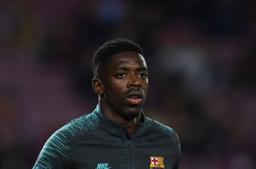 Ousmane Dembele of FC Barcelona. (Photo by Etsuo Hara/Getty Images)