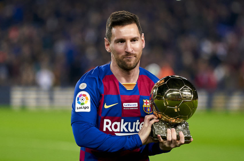 Lionel Messi, FC Barcelona (Photo by Quality Sport Images/Getty Images)