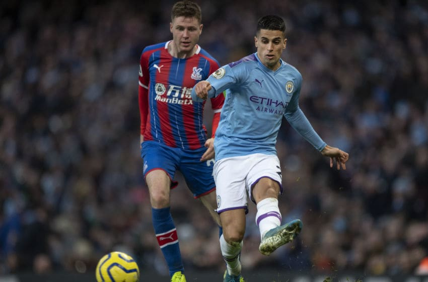 Barcelona target Joao Cancelo, Manchester City (Photo by Visionhaus)