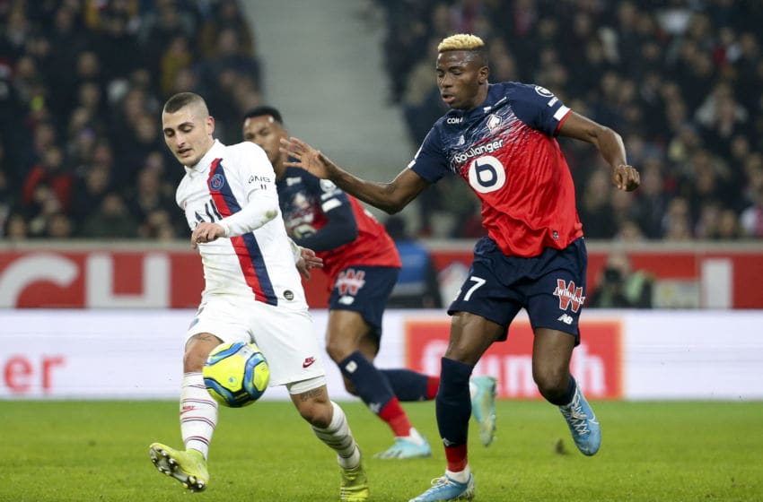 Victor Osimhen, Lille (Photo by Jean Catuffe/Getty Images)