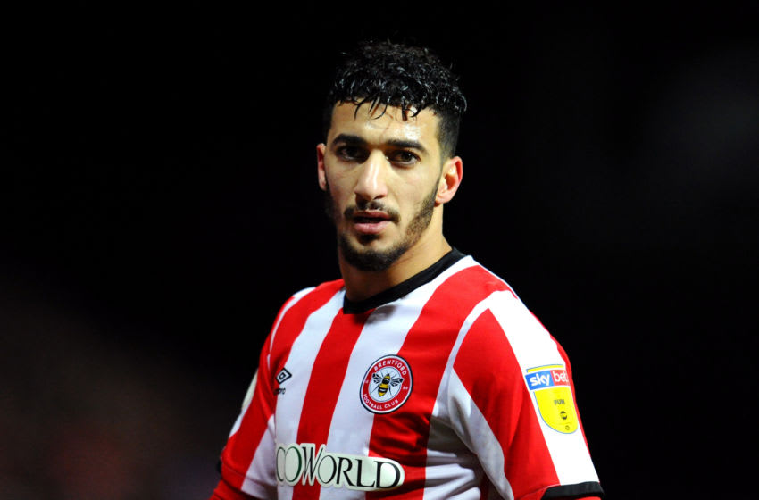 Said Benrahma, Brentford (Photo by Alex Burstow/Getty Images)