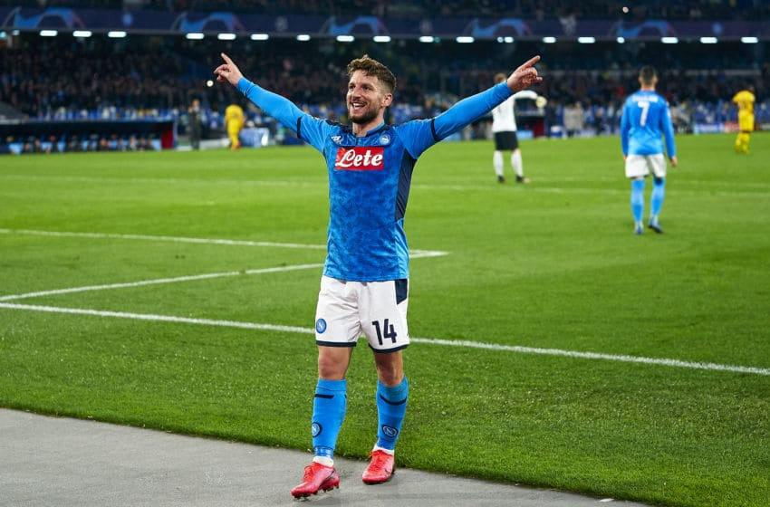 Dries Mertens, Napoli (Photo by Pedro Salado/Quality Sport Images/Getty Images)
