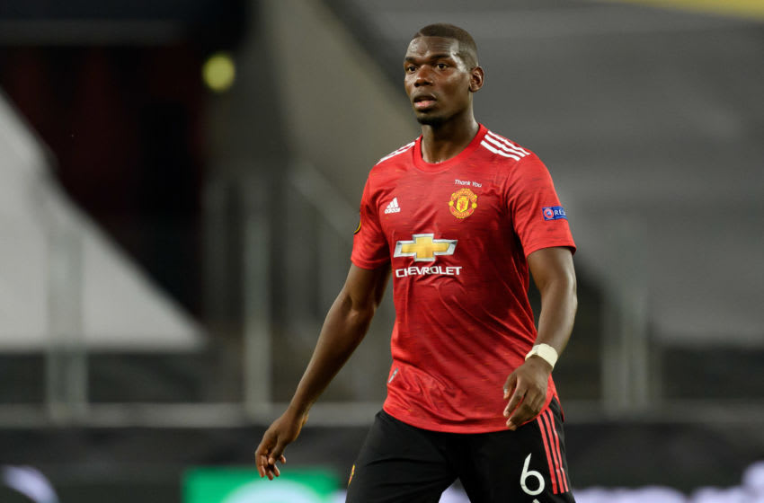 Manchester United's Paul Pogba (Photo by Alex Gottschalk/DeFodi Images via Getty Images)