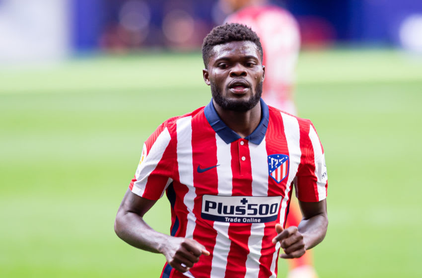 Thomas Partey brings a boatload of talent to the Arsenal midfield after securing a 45 million switch to the Emirates. (Photo by Alejandro Rios/DeFodi Images via Getty Images)