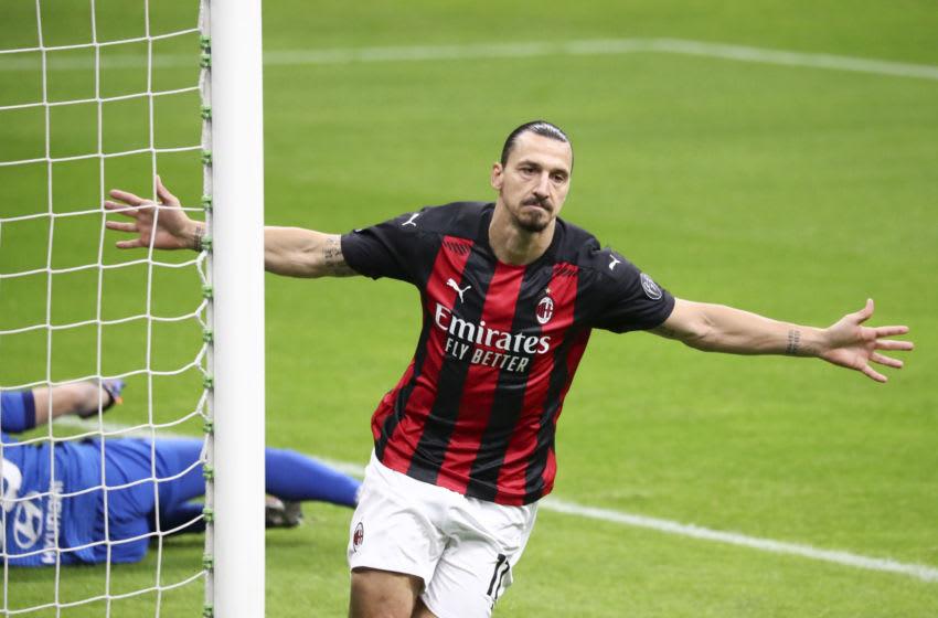 Zlatan Ibrahimovic of AC Milan (Photo by Sportinfoto/DeFodi Images via Getty Images)