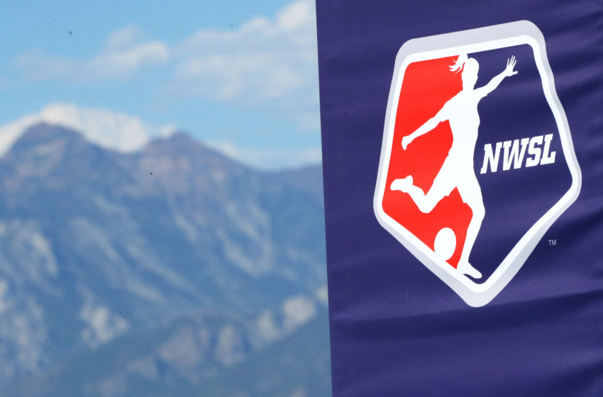 NWSL logo (Photo by Maddie Meyer/Getty Images)