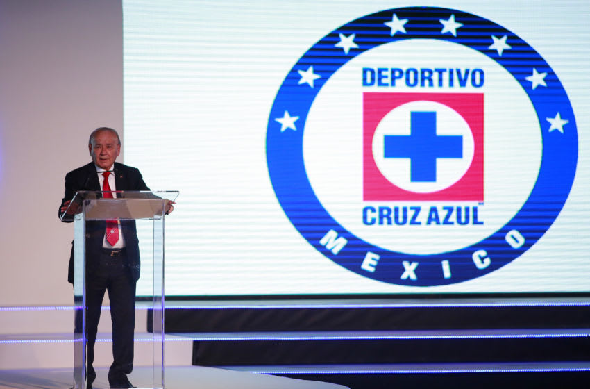 Guillermo Alvarez, President of Cruz Azul (Photo by Mauricio Salas/Jam Media/Getty Images)