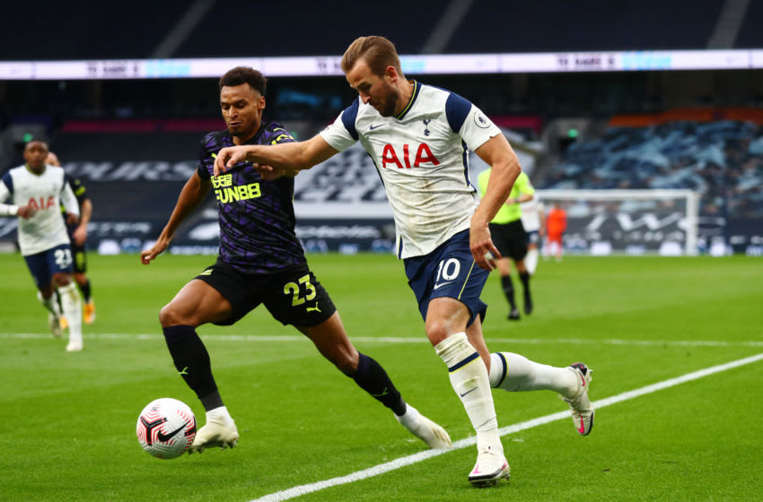Tottenham Hotspur vs Newcastle United, EPL 2020/21 (Photo by Clive Rose/Getty Images)