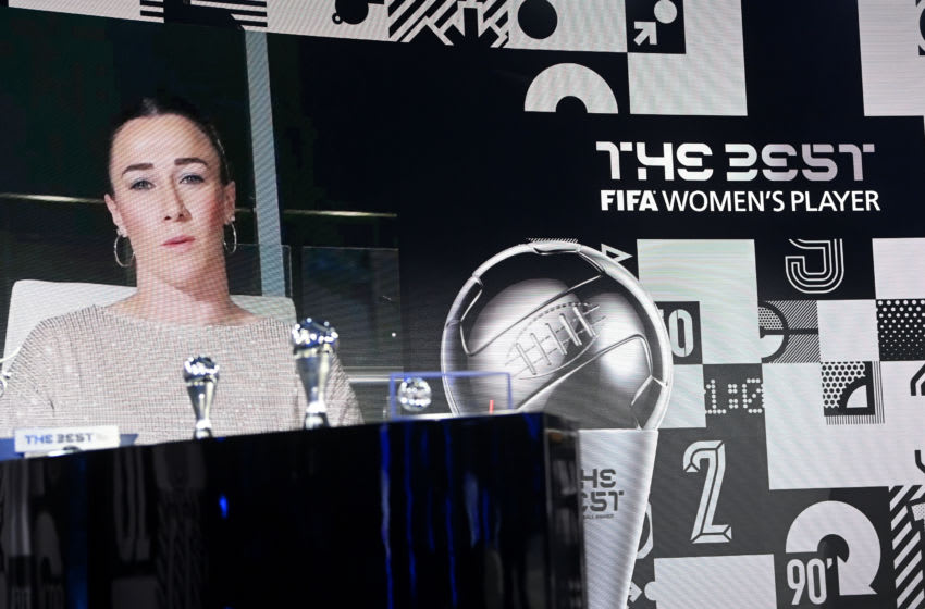 Lucy Bronze, The Best FIFA Football Awards (Photo by Valeriano Di Domenico - Pool/Getty Images)